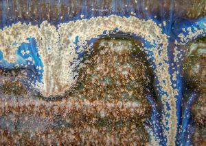 glaze closeup
