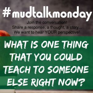 021 – What Can You Teach?
