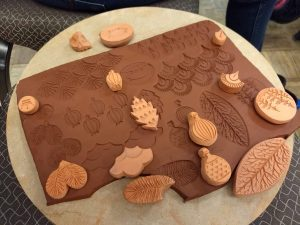 sarah pike bisque clay stamps