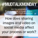 How does social media affect your work?